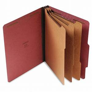 unv10290 universalr classification folders zuma With classification folders 3 dividers letter