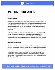 legal disclaimer templates samples for blogs apps With legal advice disclaimer template