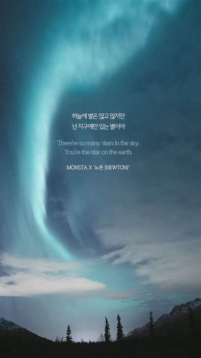 Lyrics Quotes Song Monsta Kpop Korean Songs