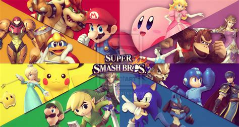 Smash Bros Anime Wallpaper - smash bros hd wallpaper wallpapersafari
