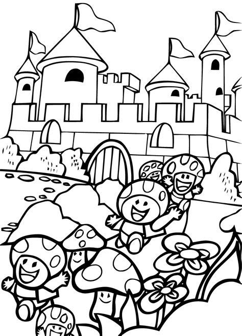 Giga Bowser Kleurplaten by Mario Bros 59 Videojuegos P 225 Ginas Para Colorear