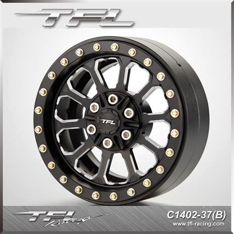 tfl   cnc aluminum alloy beadlock wheels   hub designhkl  rc car