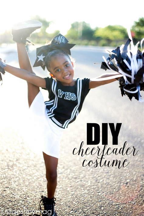 simple diy cheerleader costume  destiny