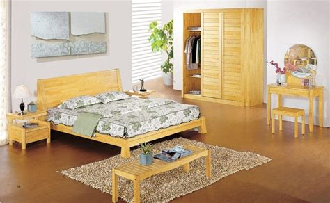 china aesthetic design pine wood bedroom set china bedroom set