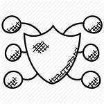 Network Protection Icon Security Malware Debugging Antivirus