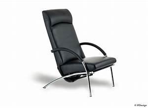 Designer Relaxsessel Leder : ip design relaxsessel curve leder schwarz ~ Michelbontemps.com Haus und Dekorationen