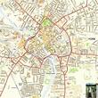 York Offline Street Map, including the Minster, City Walls ...
