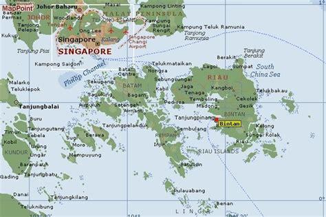 bintan map lingga island