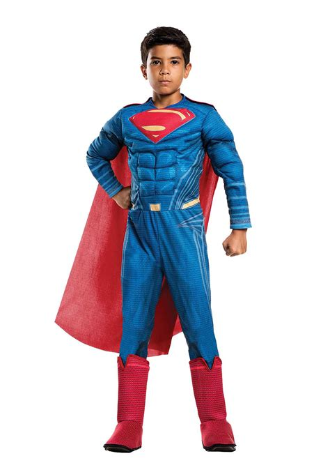 justice league deluxe superman costume  boys