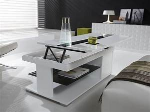 Table De Salon Transformable : table basse relevable dolce zd1 tbas r d ~ Teatrodelosmanantiales.com Idées de Décoration
