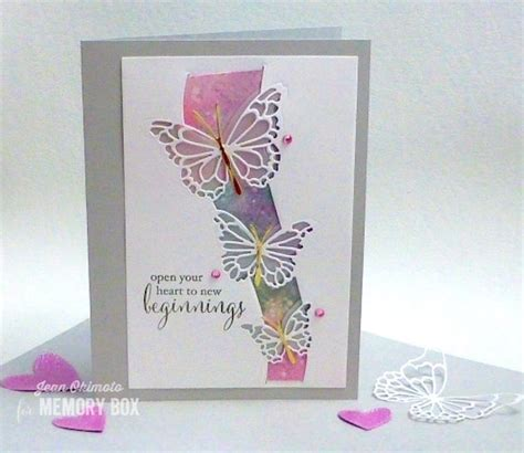 memory box butterfly swell craft die  memory box