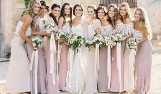 floral bridesmaids robes top 4 bridesmaid dresses trends your will in fall winter tulle chantilly wedding