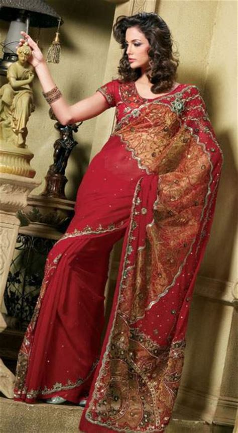 Tight Saree Draping - indian bridal and trousseau collection