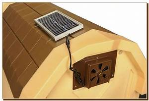 solar powered dog house heater pet products pinterest With solar powered dog house