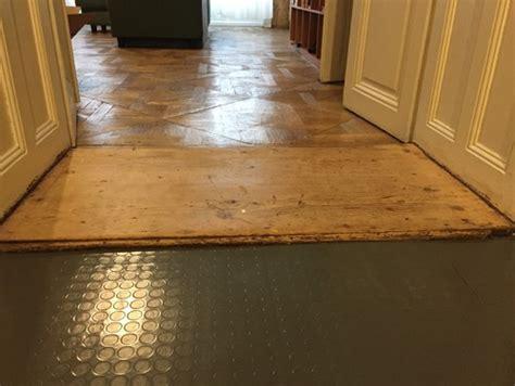 best kitchen flooring for uneven floor uneven floor transitions between areas