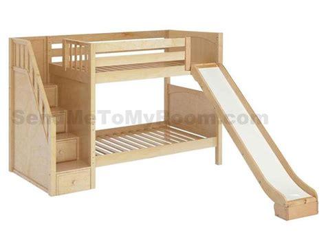 bunk bed with slide and desk stellar medium bunk bed with slide and staircase boys