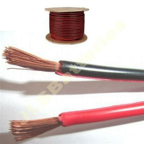 100m reel black electrical cable car home wire 10a meter 32 0 2mm 10 ebay