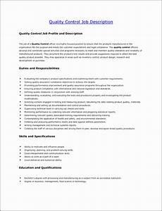 7 Employee Job Description Template - SampleTemplatess ...