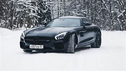 Mercedes 4k Amg Snow Gt Wallpapers Cars