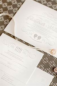 wedding invitations mitchell dent With wedding invitations with silhouette cameo