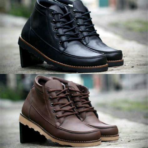 Jual Sepatu Pria Sepatu jual sepatu boots pria sepatu semi boots pria sepatu kulit