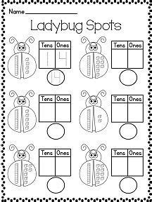count  lady bug spots    children learn