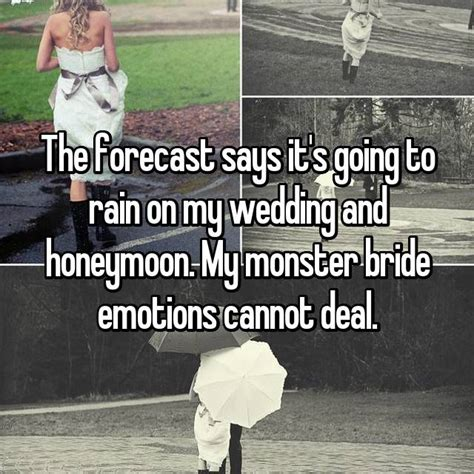 rain   wedding day good luck  bad