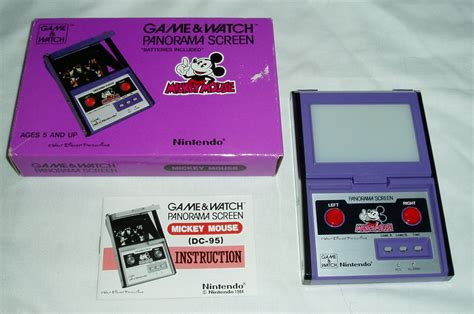 Retro Treasures Mickey Mouse Game & Watch