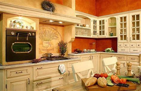 Decorating Ideas For Kitchen Colors by Orange Kitchen Colors 20 Modern Kitchen Design And
