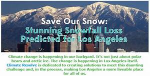 Climate change could slash snowfall in Southern California ...