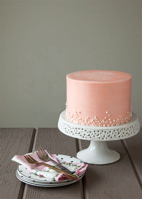 Rose And White Chocolate Cake — Style Sweet Ca