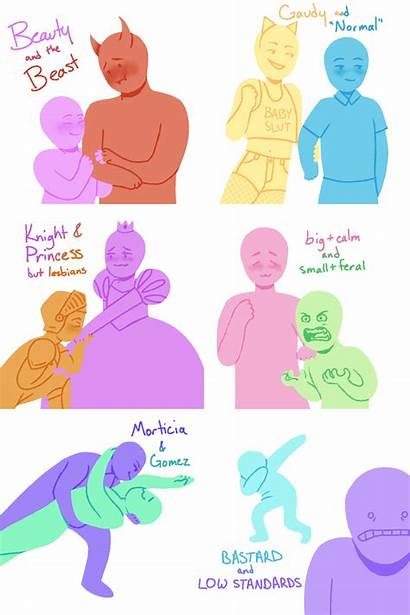Meme Deviantart Ship Tropes Drawing Funny Poses