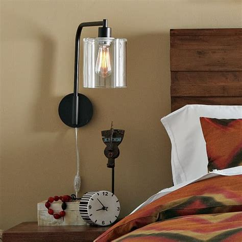 lens sconce west elm