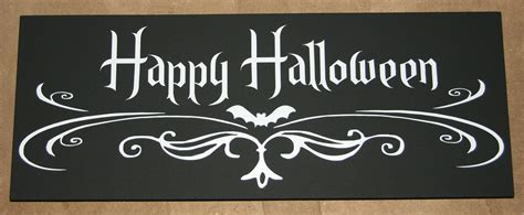 cute happy halloween sign festival collections