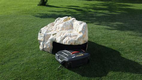 Felsengarage Für Rasenroboter