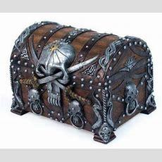 Pirate Treasure Chest Ebay