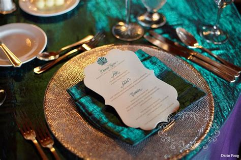 wedding  colors teal  copper arabia weddings