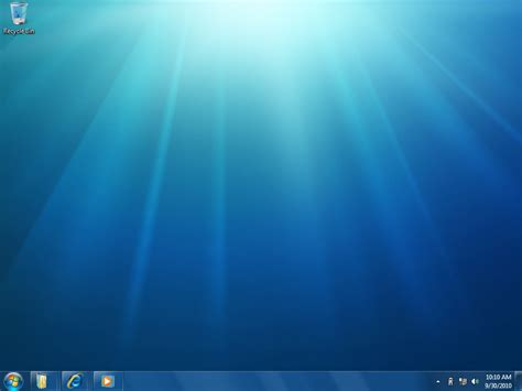 theme bureau windows microsoft windows 7 m3 build 6933 screenshots