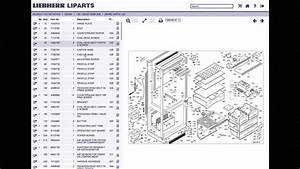 Liebherr Parts Lookup