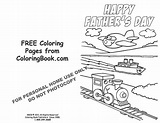 Coloring Pages | Free Online Coloring Pages-Father's Day Card