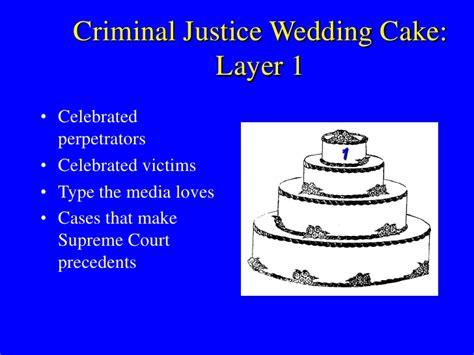 criminal justice wedding cake