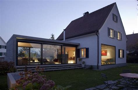 anbau am haus anbau siedlungshaus modern houses design window and modern