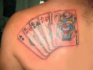 30+ Coolest Play Cards Tattoo Designs Around the Web ...