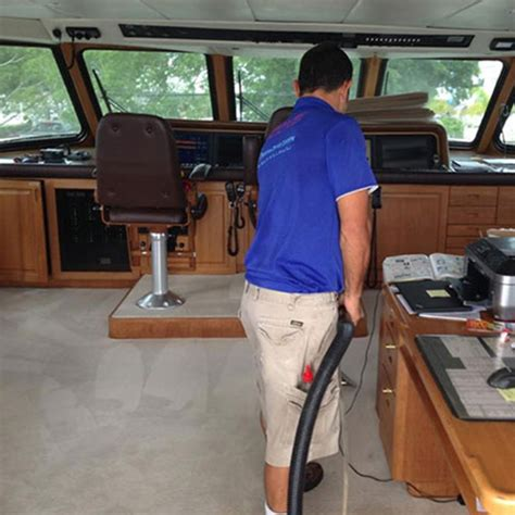 Boat Carpet Cleaning Service by Thorough Boat Cleaning Services Jerseycity