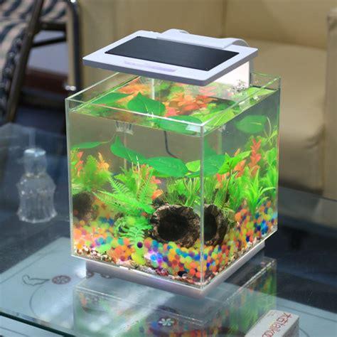 nouveau r 233 servoir de poissons acrylique nano view mini aquarium petit aquarium nouveau