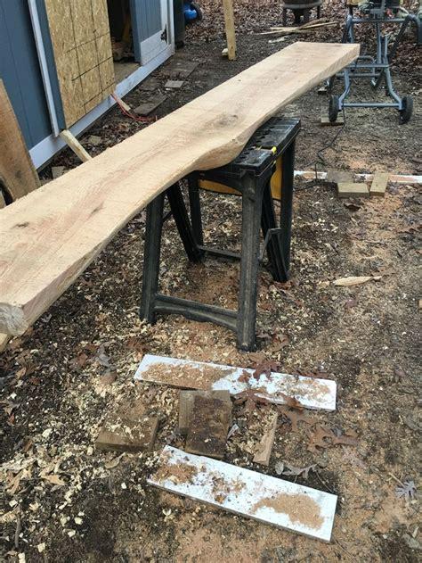 images  wood slab ideas  pinterest
