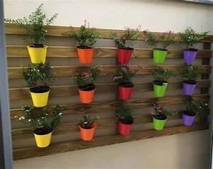 fabriquer une jardiniere en bois jardiniere en palette With nice idee amenagement exterieur entree maison 7 plante exterieur en pot en 35 idees deco