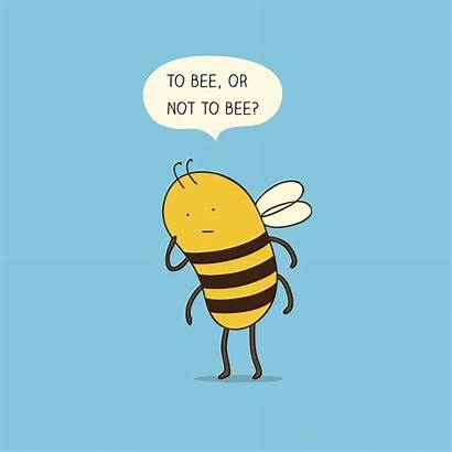 Bee Mongs Puns Confused