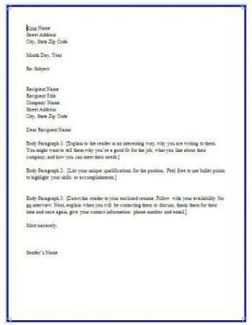 what does a cover letter look like what is a resume cover letter look like application 12368