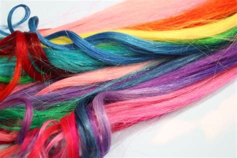 colorful hair extensions unavailable listing on etsy